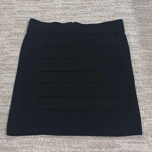 Black mini-skirt